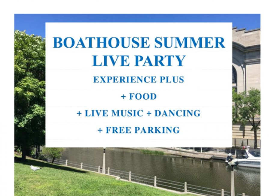 SOCIAL EVENT - BOATHOUSE SUMMER LIVE PARTY - Event